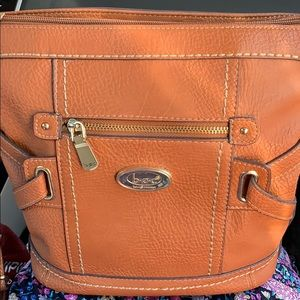 BOC Tan Crossbody with Lots of Pockets